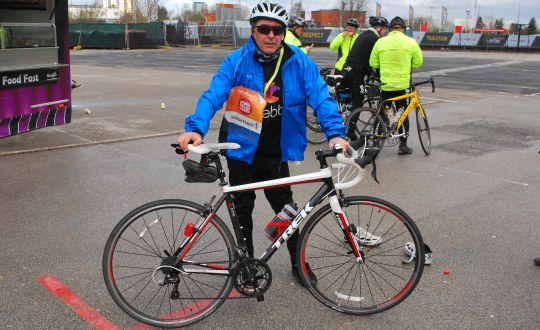 Tim Morris completes 50 mile charity cycle